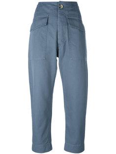 брюки с высокой талией Isabel Marant Étoile