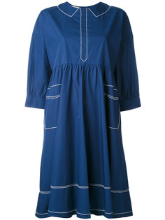 Maiko flowing dress Maison Kitsuné