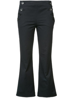 укороченные брюки в морском стиле Hache