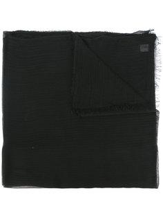 frayed edge scarf  Faliero Sarti