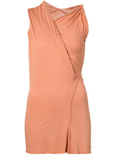 ruched wrap top Rick Owens Lilies