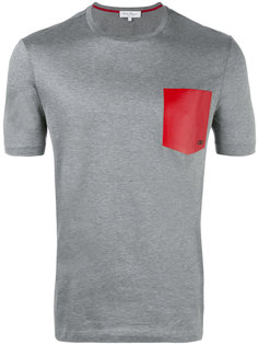 футболка с принтом кармана Salvatore Ferragamo