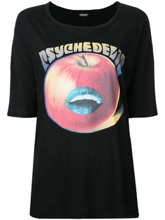 apple print T-shirt Undercover