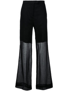 elegant wide trousers Yang Li