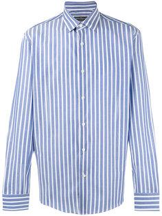 рубашка в вертикальную полоску Salvatore Ferragamo