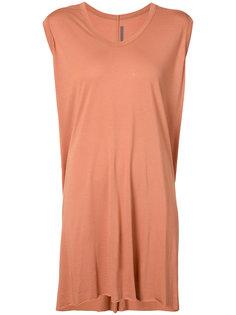 elongated sleeveless T-shirt Rick Owens Lilies