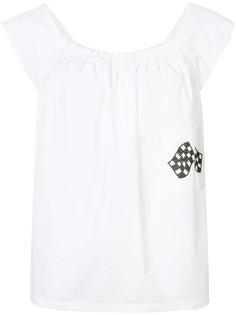 блуза без рукавов Hache