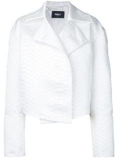 cropped jacket Yang Li