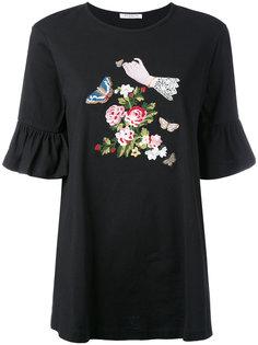 платье-футболка с вышивкой Vivetta