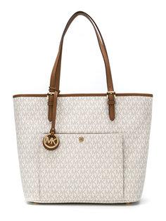 сумка-тоут с карманом на заклепке Michael Michael Kors