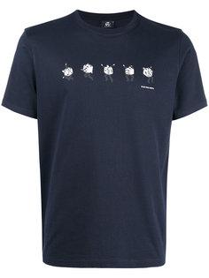 футболка с принтом игральных костей Ps By Paul Smith