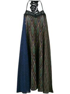 платье с люрексом и кружевом Circus Hotel