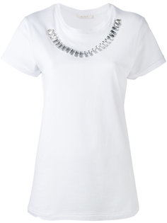 футболка с цепочкой из стразов Alyx