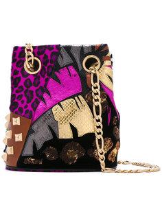 сумка на плечо с комбинированным узором Marc Jacobs