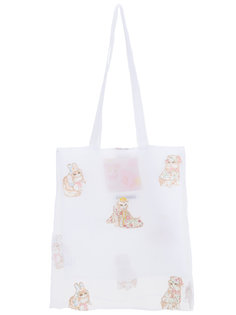 cats tote bag  Mikio Sakabe