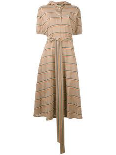 платье-поло с капюшоном Lacoste