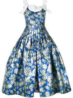 платье с пышной юбкой Delpozo
