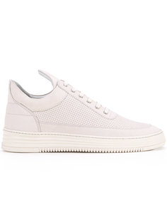 Tone perforated low top sneakers Filling Pieces