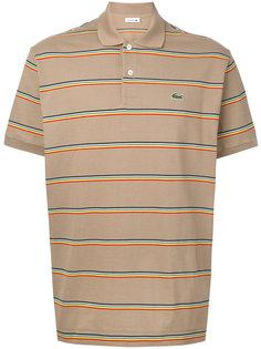 рубашка-поло с разноцветными полосами Lacoste