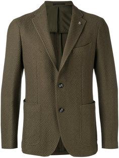 пиджак с заостренными лацканами Tagliatore