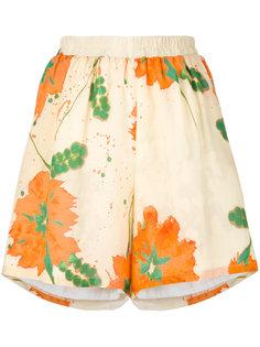 шорты с цветочным рисунком Roseanna