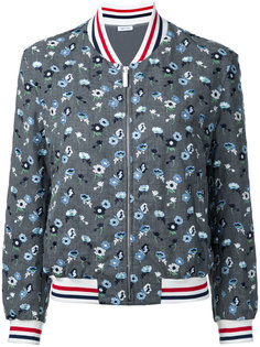 embroidered flower bomber jacket  Thom Browne