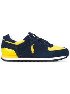 кроссовки со шнуровкой и вышитым логотипом Polo Ralph Lauren