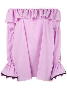 блузка с открытыми плечами Blugirl