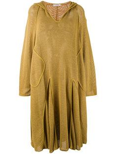 сетчатое платье с капюшоном Lacoste