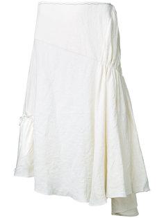 юбка миди с присборенной отделкой J.W.Anderson