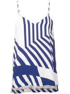 striped vest top Erika Cavallini