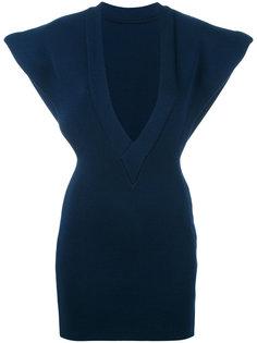 блузка с V-образным вырезом Jacquemus
