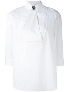 рубашка с воротником без застежки Salvatore Ferragamo