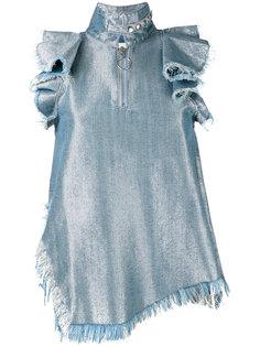 блузка с необработанными краями Marquesalmeida