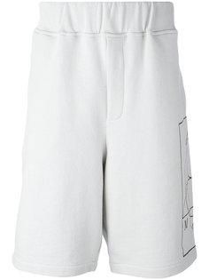 спортивные шорты с логотипом сбоку McQ Alexander McQueen