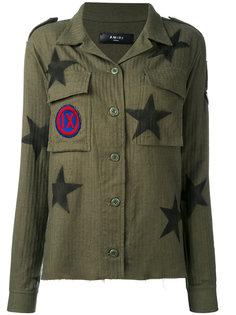 star-print shirt Amiri