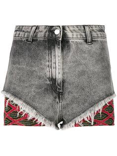 джинсовые шорты с люрексом Circus Hotel