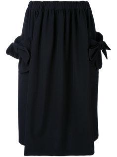 юбка с карманами с бантом Comme Des Garçons Comme Des Garçons