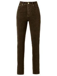 high waist velvet skinny trousers Amapô