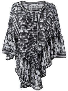 knit poncho Cecilia Prado