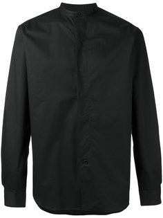 рубашка без воротника Lemaire