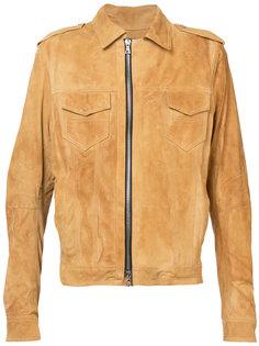 байкерская куртка Amiri