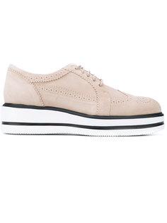 туфли со шнуровкой Hogan