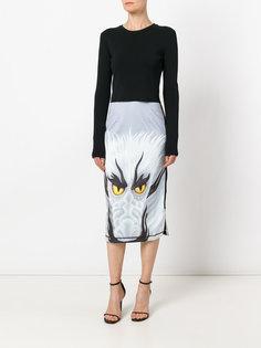 юбка с принтом дракона J.W.Anderson
