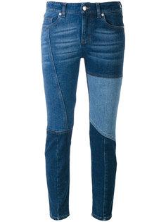 джинсы скинни лоскутного кроя Alexander McQueen