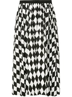 diamond print full skirt  Tome