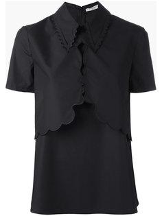 блузка с вышивкой  Vivetta