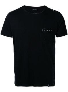 футболка с отделкой заклепками Marc Jacobs