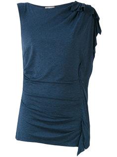футболка на одно плечо Paul & Joe