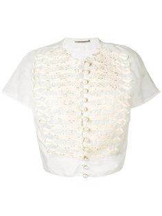 блузка на пуговицах Ermanno Scervino